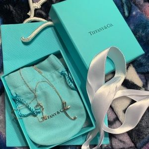 "Tiffany and Co ""T"" Necklace"